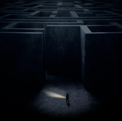 Главное изображение для квеста Лабиринт в темноте