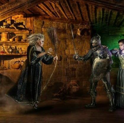 Главное изображение для квеста Логово ведьмы