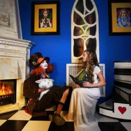 Главное изображение для квеста Алиса в зазеркалье