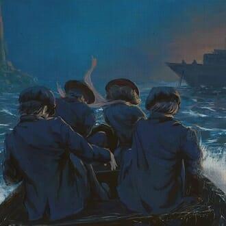 Главное изображение для квеста Бегство через Атлантику