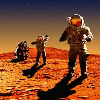 Главное изображение для квеста Путешествие на Марс