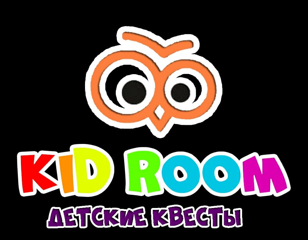 Лого: квесты KidRoom Тюмень