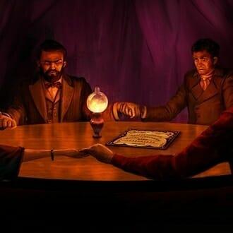 Главное изображение для квеста Спиритический сеанс