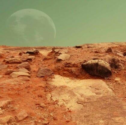 Главное изображение для квеста Квест во сне «Марсианин»