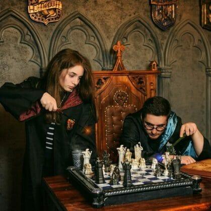 превью квеста Школа магии и волшебства Красноярск