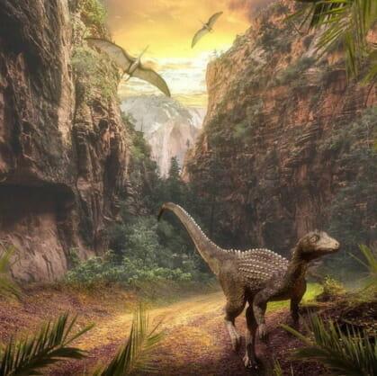превью квеста По следам динозавров Томск