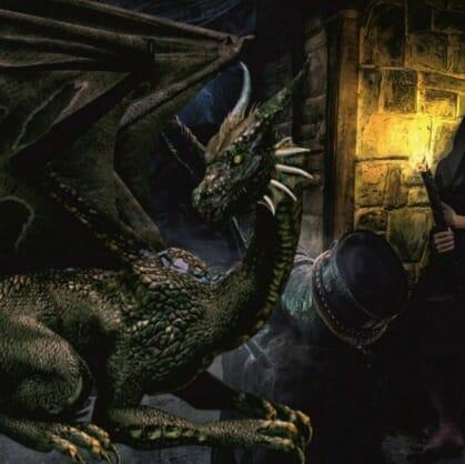 Главное изображение для квеста Подземелье дракона
