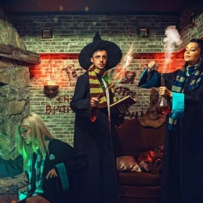 превью квеста Школа магии (Иллюзroom) Барнаул