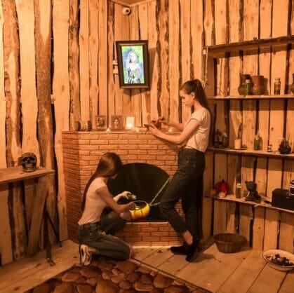 превью квеста Хижина черной ведьмы Барнаул
