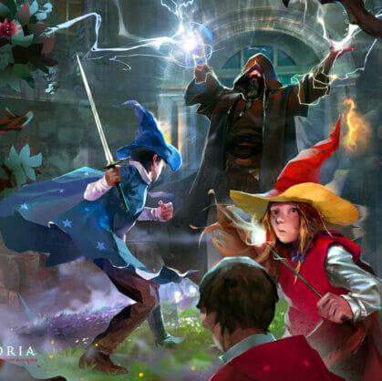 превью квеста Школа магии (Questoria) Барнаул
