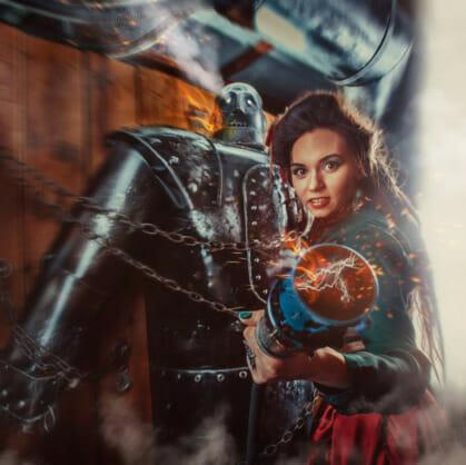 Главное изображение для квеста Робот Франкенштейна
