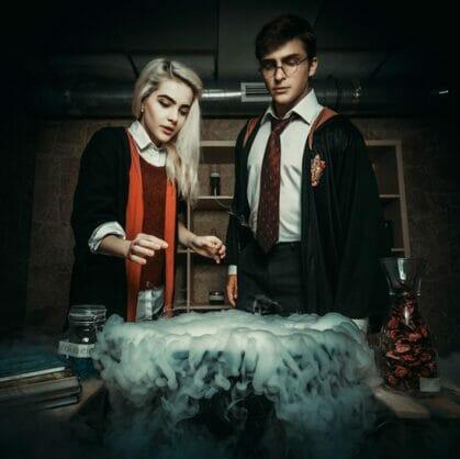превью квеста Гарри Поттер и тайная комната Рязань
