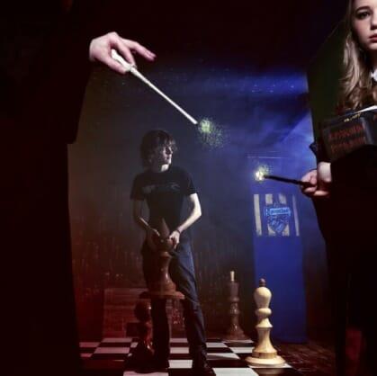 Главное изображение для квеста Гарри Поттер и Дары смерти