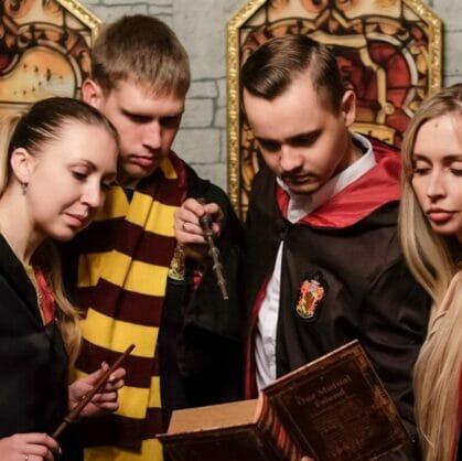 превью квеста Гарри Поттер и последний крестраж Сочи