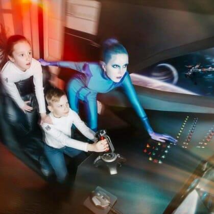 Главное изображение для квеста Космос kids