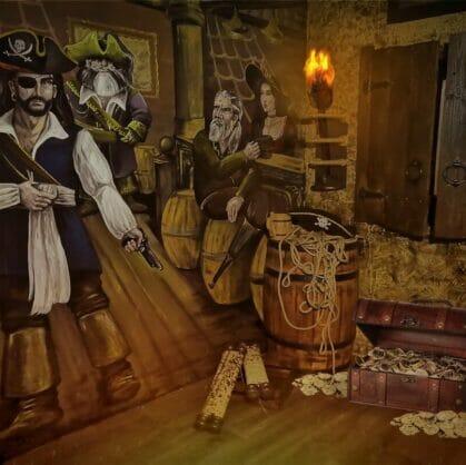 превью квеста Пираты Карибского моря. Ацтекское золото Екатеринбург
