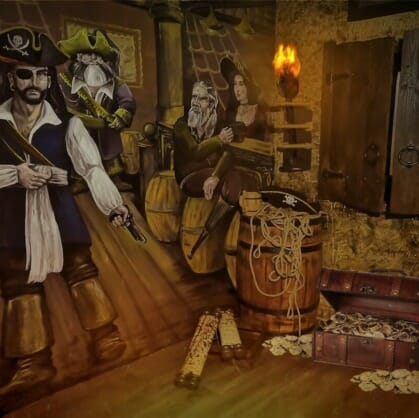 Главное изображение для квеста Пираты Карибского моря. Ацтекское золото
