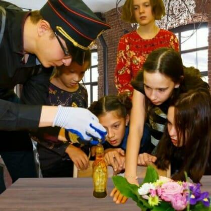 превью квеста Секретное расследование Казань